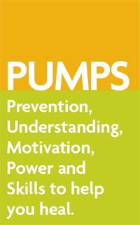 PUMPS: Prevention, Understanding, Motivation, Power and Skills