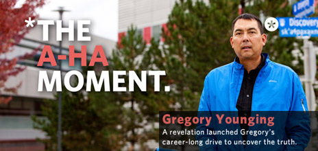 Gregory Younging, Professor of Indigenous Studies, Irving K. Barber School of Arts and Sciences.