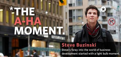 Steve Buzinski, Bachelor of Management (Class of 2011)