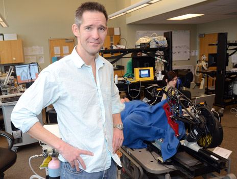 UBC Researcher of the Year for 2012, Philip Ainslie