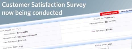 Facilities Management customer satisfaction survey