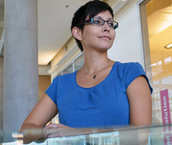 New Aboriginal Student Advisor Sandra Young reflects on her post secondary experience at Okanagan University College.