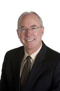 Paul Mitchell, UBC distinguished UBC alumnus and recipient of the Blythe Eagles Volunteer Leadership Award.