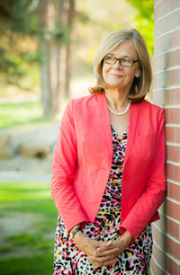 Deborah Buszard, Deputy Vice-Chancellor and Principal.