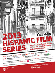 Hispanic Film Series graphic