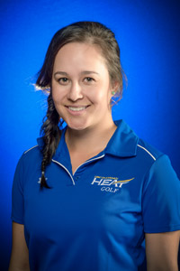 Fith year female golfer Jen Woods is nominated for one of the top athletic awards in BC.