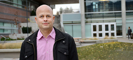 Assist. Prof. Zach Walsh wants research to help assess and harness marijuana's therapeutic potential.