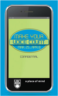 Make your voice count graphic