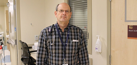 Dr. Gary Victor, Director of the Medical Teaching Unit at Kelowna General Hospital.