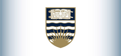 the new UBC Coat of Arms