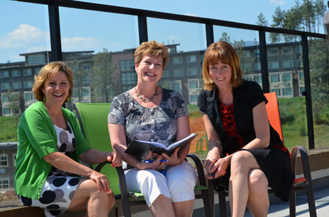 UBC's Conferences and Accommodation staff (from left) Suzanne Nazareno, Debbie Harding, and Maaike Ammerlaan are prepared for a busy tourist season this summer.
