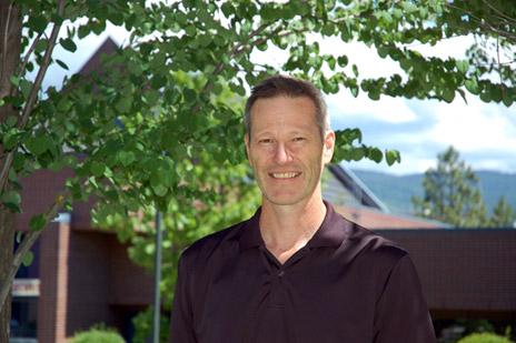 Paul van Donkelaar is the director of UBC's School of Health and Exercise Sciences
