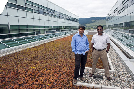 UBC Okanagan Prof. Rehan Sadiq and Assoc. Prof Kasun Hewage are working with the City of Penticton to help the municipality make its city-owned buildings more energy efficient.