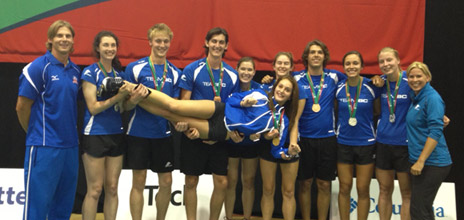Nine Heat athletes have finished their competition at the Canada Summer Games. All earned a medal.