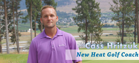 New coach Cass Hritzuk is ready for a new campaign of Heat golf.