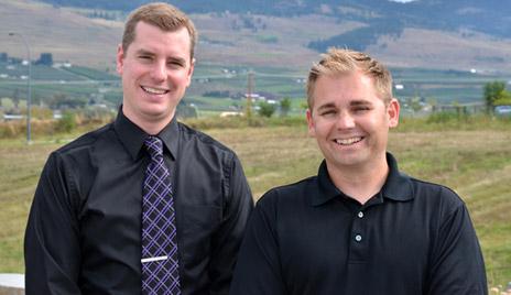 Chris Lebans and Dennis Golinski