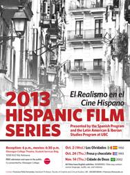 Hispanic Film Series poster