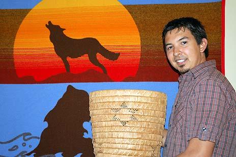 Jordan Coble is among the first Aboriginal students to graduate from the new Aboriginal Access Studies program at UBC's Okanagan campus.