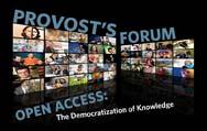 Provost's Forum on Open Access
