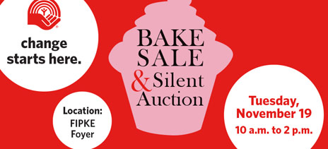 United Way Bake Sale and Silent Auction