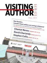 FCCS Visiting Author Series graphic