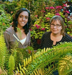 UBC literary scholar Sonnet L'Abbé and Susan Murch, Canada Research Chair in Natural Products Chemistry, have worked on interdisciplinary projects in plant intelligence, signaling and behaviour.