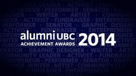 alumni UBC achievement awards 2014