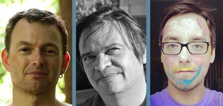 From left: Greg Garrard, Ashok Mathur and Myron Campbell