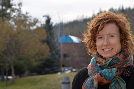 Lael Parrott is studying landscape impacts in a $4.3 million mountain pine beetle research project