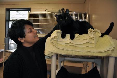 Nishat Tasnim will be working at the Kelowna SPCA over Reading Week