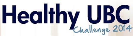 the Healthy UBC Challenge 2014