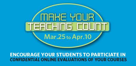 Teaching evaluations