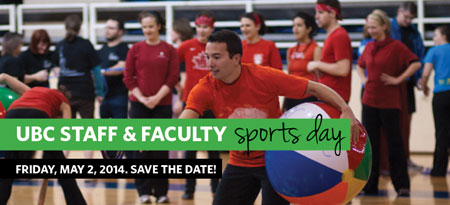 Staff and Faculty Sports Day 2014