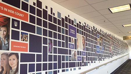 Airport wall image