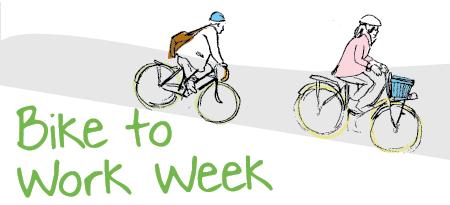 Bike to Work Week 2014: May 26 to 30