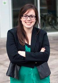 Kirsty Rancier, 2014 Kick Start Orientation coordinator