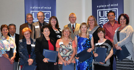 28 employees were recently thanked for their years of service.