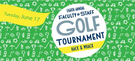Hack & Whack golf tournament graphic