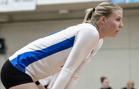 The third-year middle blocker for the Heat adds to her awards collection with another honour bestowed her from her award winning Junior season.