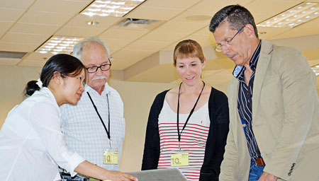Robert Campbell from the Faculty of Education, Bowen Hui, from the Irving K. Barber School of Arts and Sciences, Barbara Sobol from the UBC Okanagan library, and Bruce Young from the Centre for Teaching and Learning, will analyze responses of students in a flexible learner environment to examine post-secondary students' awareness of digital citizenship.