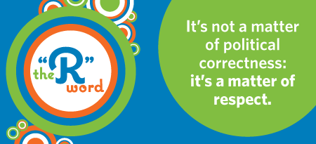 R Word graphic