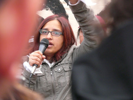 Political activist and author Harsha Walia. Photo credit: Brent Granby