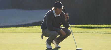 The Sun has set on Will Deck's golf career at UBC Okanagan.