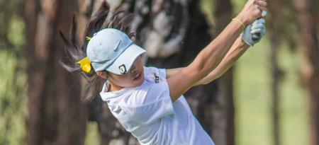 Carolyn Lee's 75 was the lowest score on the PACWEST women's tour all season. (Photo by Greystoke Photography)