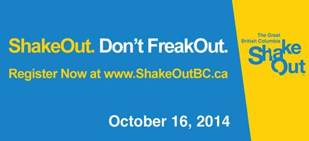 Great British Columbia ShakeOut.