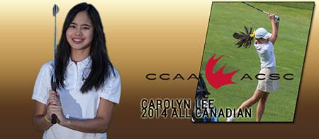 Heat golfer Carolyn Lee earns top award
