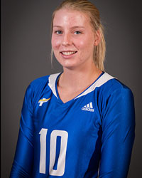 CanadaWest 2nd Star: #10 Katy Klomps, Heat women's volleyball