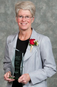 Kathy Rush, associate professor of nursing. Photo Credit: CRNBC.