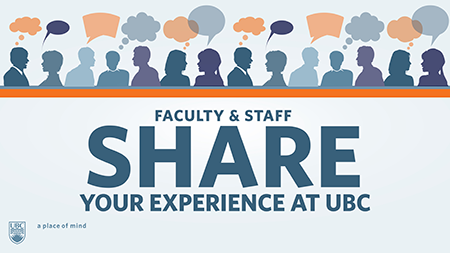 2014 Faculty and Staff Workplace Experiences Survey graphic