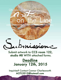 Art on the Line poster